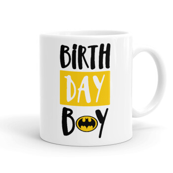 Birth day Boy (batman), Κούπα, κεραμική, 330ml (1 τεμάχιο)