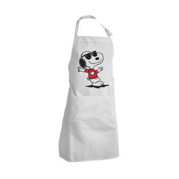 Snoopy καρδούλα, Ποδιά μαγειρικής BBQ Ενήλικων