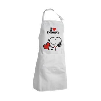 I LOVE SNOOPY, Ποδιά μαγειρικής BBQ Ενήλικων