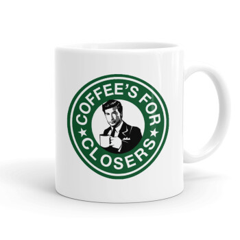 Coffee's for closers, Κούπα, κεραμική, 330ml (1 τεμάχιο)
