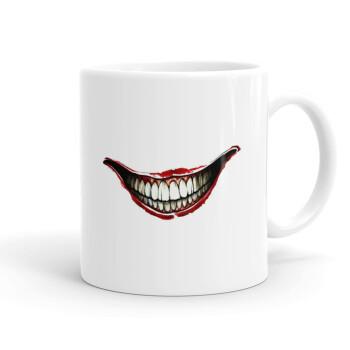 Joker smile, Κούπα, κεραμική, 330ml (1 τεμάχιο)