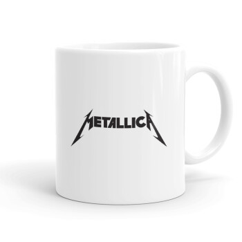 Metallica logo, Κούπα, κεραμική, 330ml (1 τεμάχιο)