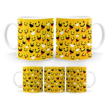 Smilies , Κούπα, κεραμική, 330ml (1 τεμάχιο)
