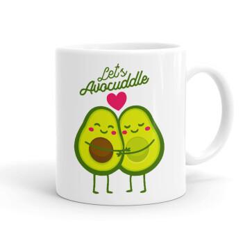 Let's avocuddle, Κούπα, κεραμική, 330ml (1 τεμάχιο)