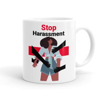 STOP Harassment, Κούπα, κεραμική, 330ml (1 τεμάχιο)