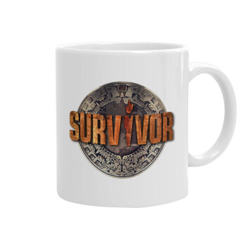 Survivor, Κούπα, κεραμική, 330ml (1 τεμάχιο)