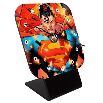 Superman angry,
