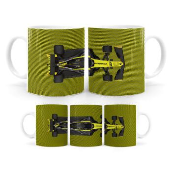 Renault Formula 1, Κούπα, κεραμική, 330ml (1 τεμάχιο)