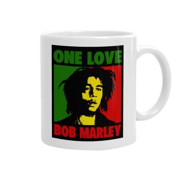 Bob marley, one love, Κούπα, κεραμική, 330ml (1 τεμάχιο)