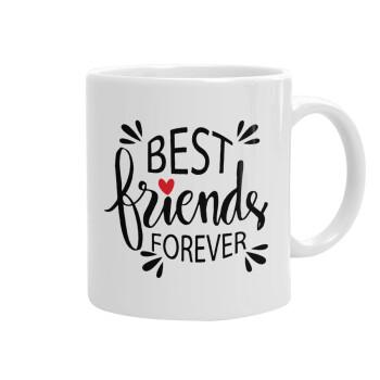 Best Friends forever, Κούπα, κεραμική, 330ml (1 τεμάχιο)
