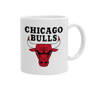 Chicago Bulls, Κούπα, κεραμική, 330ml (1 τεμάχιο)