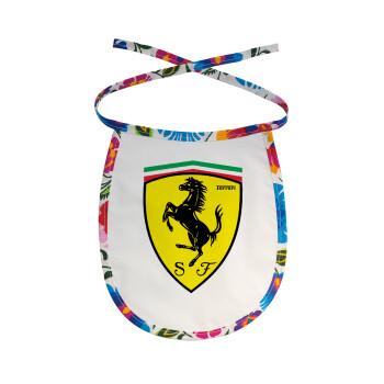 Ferrari, Σαλιάρα μωρού αλέκιαστη με κορδόνι Χρωματιστή
