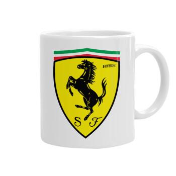 Ferrari, Κούπα, κεραμική, 330ml (1 τεμάχιο)