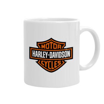 Motor Harley Davidson, Κούπα, κεραμική, 330ml (1 τεμάχιο)
