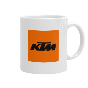 KTM, Κούπα, κεραμική, 330ml (1 τεμάχιο)