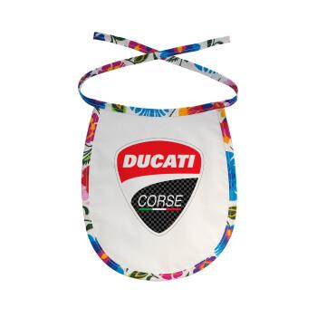 Ducati, Σαλιάρα μωρού αλέκιαστη με κορδόνι Χρωματιστή