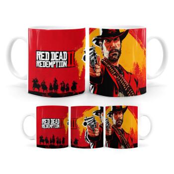Red Dead Redemption 2, Κούπα, κεραμική, 330ml (1 τεμάχιο)