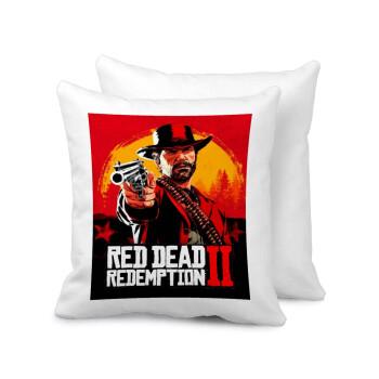 Red Dead Redemption 2, Μαξιλάρι καναπέ 40x40cm περιέχεται το γέμισμα