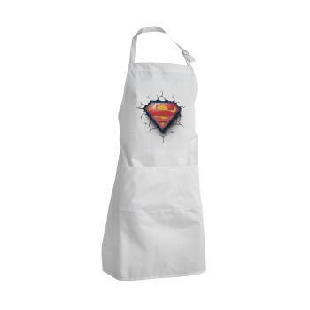 Superman cracked, Ποδιά μαγειρικής BBQ Ενήλικων