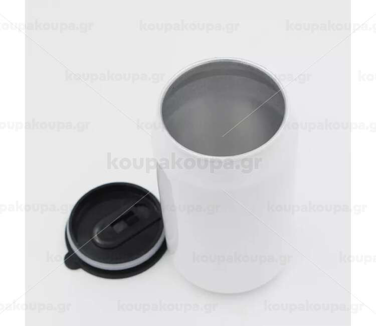 Tourist water bottle tin can-shaped 500ml