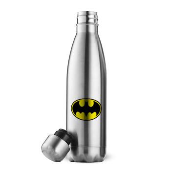 Batman, Μεταλλικό παγούρι θερμός Inox (Stainless steel 304), διπλού τοιχώματος, 500ml