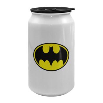 Batman, Κούπα ταξιδιού μεταλλική με καπάκι (tin-can) 500ml