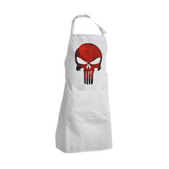 Red skull, Ποδιά μαγειρικής BBQ Ενήλικων