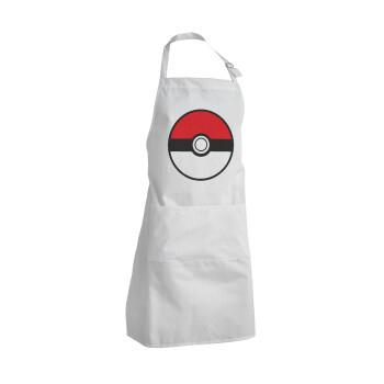 Pokemon ball, Ποδιά μαγειρικής BBQ Ενήλικων