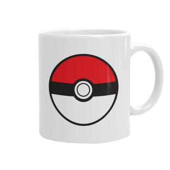 Pokemon ball, Κούπα, κεραμική, 330ml (1 τεμάχιο)