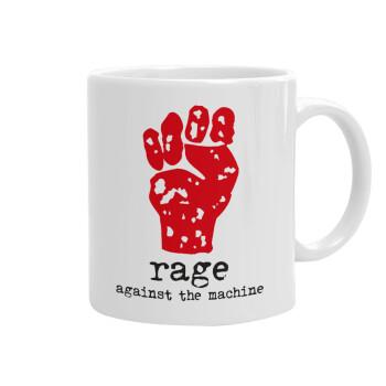 Rage against the machine, Κούπα, κεραμική, 330ml (1 τεμάχιο)