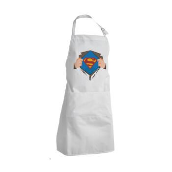 Superman hands, Ποδιά μαγειρικής BBQ Ενήλικων