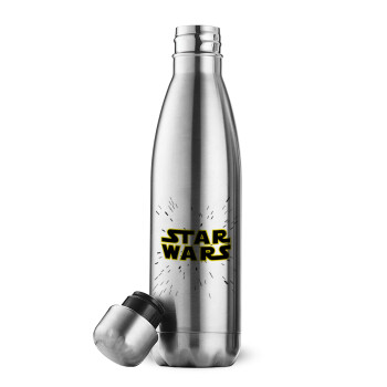 Star Wars, Μεταλλικό παγούρι θερμός Inox (Stainless steel 304), διπλού τοιχώματος, 500ml