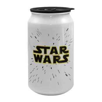 Star Wars, Κούπα ταξιδιού μεταλλική με καπάκι (tin-can) 500ml