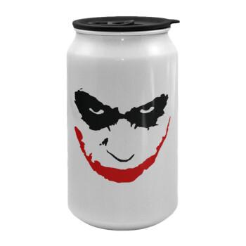 The joker smile, Κούπα ταξιδιού μεταλλική με καπάκι (tin-can) 500ml