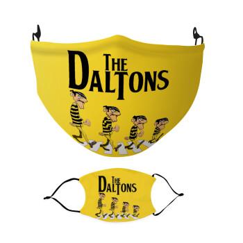 The Daltons, Μάσκα υφασμάτινη Ενηλίκων πολλαπλών στρώσεων με υποδοχή φίλτρου