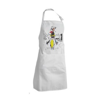 Λούκυ Λουκ comic, Ποδιά μαγειρικής BBQ Ενήλικων