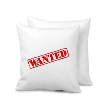 Wanted, Μαξιλάρι καναπέ 40x40cm περιέχεται το γέμισμα