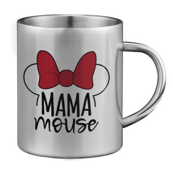 MAMA mouse, Κούπα ανοξείδωτη διπλού τοιχώματος μεγάλη 350ml