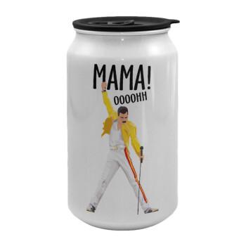 mama ooohh!, Κούπα ταξιδιού μεταλλική με καπάκι (tin-can) 500ml