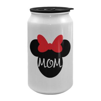 mini mom, Κούπα ταξιδιού μεταλλική με καπάκι (tin-can) 500ml