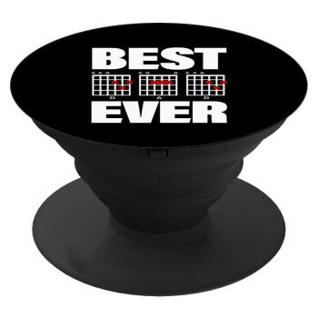 Best DAD Ever συγχορδίες κιθάρας, Pop Socket Μαύρο Βάση Στήριξης Κινητού στο Χέρι