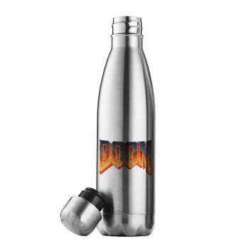 DOOM, Μεταλλικό παγούρι θερμός Inox (Stainless steel 304), διπλού τοιχώματος, 500ml