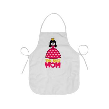 The Best Mom Queen, Ποδιά μαγειρικής Ενηλίκων (63x75cm)