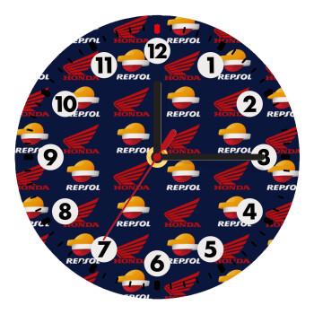 Honda Repsol Team, Ρολόι τοίχου ξύλινο (19cm)