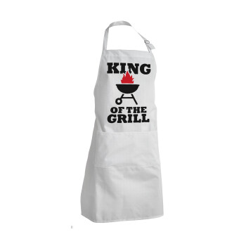 KING of the Grill, Ποδιά μαγειρικής BBQ ενήλικα