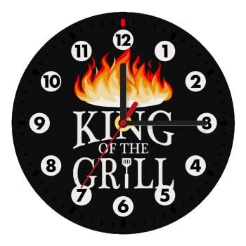 KING of the Grill GOT edition, Ρολόι τοίχου ξύλινο (19cm)