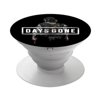 Day's Gone, Pop Socket Λευκό Βάση Στήριξης Κινητού στο Χέρι