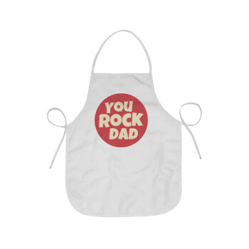 YOU ROCK DAD, Ποδιά μαγειρικής Ενηλίκων (63x75cm)