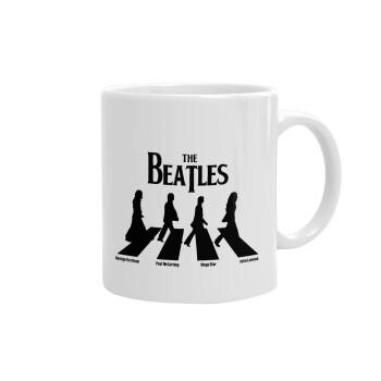 The Beatles, Abbey Road, Κούπα, κεραμική, 330ml (1 τεμάχιο)
