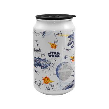 Ο πόλεμος των άστρων, Κούπα ταξιδιού μεταλλική με καπάκι (tin-can) 500ml